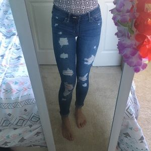 Womens Hollister Skinny Jeans